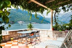 """Apartment in Perast, Montenegro. ***** Featured on HUFFINGTON POST and PureWow article: """"Amazing Places You Can Stay Around The World For Less Than $50 A Night"""" *****  Right next to the Perast museum, our studio apartment has a spacious terrace with a magnificent view on the two ..."""