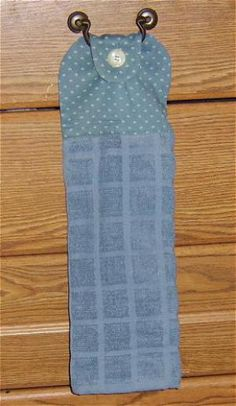 Sew Your Own Hanging Hand Towels -- Free Pattern and Directions: Gather the Materials