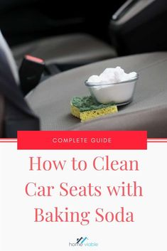 Clean your car seats and inerior with this DIY carpet cleaning hack,: baking sod. , Clean your car seats and inerior with this DIY carpet cleaning hack,: baking soda. This all natural product will remove any and all stains fast. Clean Cloth Car Seats, Cleaning Leather Car Seats, Diy Car Cleaning, Car Interior Cleaning, Diy Interior Car Cleaner, Cleaning With Baking Soda, Cleaning Products, Car Seat Upholstery, Car Interior Upholstery