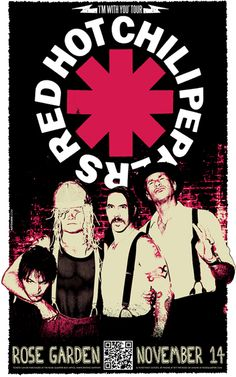 Red Hot Chili Peppers: The Red Hot Chili Peppers are an American rock band formed in Los Angeles in 1983. The group's musical style primarily consists of rock with an emphasis on funk, as well as elements from other genres such as punk rock and psychedelic rock.