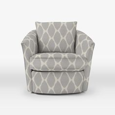 Living room swivel chairs upholstered