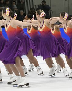 Competition Recap: 2017 Midwest & Pacific Coast Synchronized Skating Championships-Dazzlers Blue-Open Juv