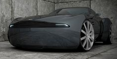 Aston Martin V8 Vantage Design Concept by Narcis Mares