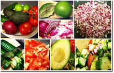 Avocado-Tomato Salad...haven't tried this, but it looks really good :)