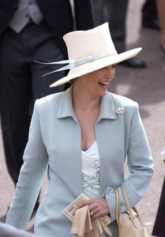 Sophie, Countess of Wessex Girl has some fabulous hats!