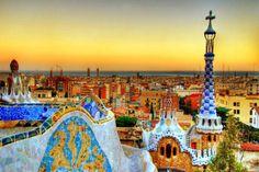 Parc Guell ... Barcelona, Spain