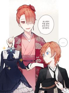Chuuya would look good in any dress yes!