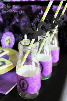 Michelle's Party Plan-It Maleficent Dessert Table