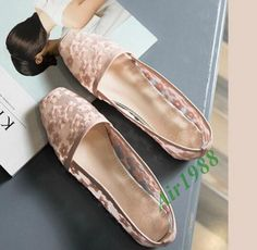 Lace Sweet Flowers Flat Heel Embroidered Date Breathable Sandals Womens Shoes