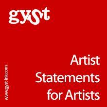 © GYST Ink. © Karen Atkinson. Information on How to Write a Kick Ass Artist Statement #GYSTInk