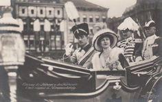 monarchia *** ORIGINAL POSTCARD *** principessa Madeleine-Bernadotte-Royal-Stockholm