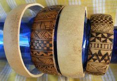 Gourd bangles. Bracelets I can grow. Sold. Effing SOLD. Must go garden now. :)