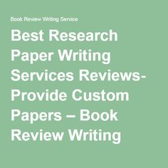 custom book review writing service us