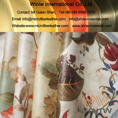 High Quality Stretch PU Faux Leather Fabric Material for Garments