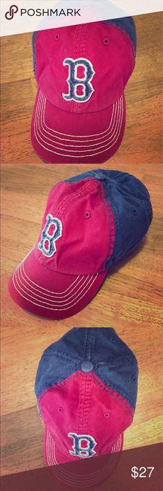 """⚾️""""Genuine Merchandise 47 Brand""""Boston Red Sox Cap ⚾️""""Genuine Merchandise 47 Brand"""" Boston Red Sox Fitted Cap • Relaxed Fit • Distressed • Green under the Red visor • White stitching on top of visor • """"RED SOX"""" across the back • Gorgeous baseball cap⚾️ Genuine Merchandise 47 Brand Accessories Hats"""