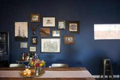 Sneak A Peek // Kate's Industrial Chic Living Room | The Effortless Chic