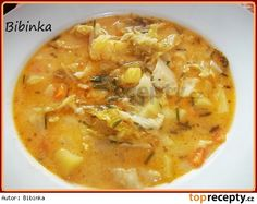 zakysana-kapustovka Czech Recipes, Ethnic Recipes, Food 52, Cheeseburger Chowder, Thai Red Curry, Recipies, Food And Drink, Cooking Recipes, Yummy Food