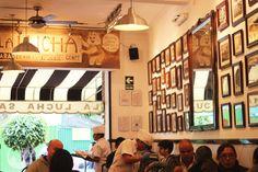 Restaurantes, bares y puestos de comida como referencias para un proyecto