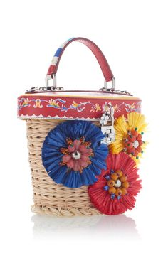 Holdall Basket Bag by DOLCE & GABBANA Now Available on Moda Operandi