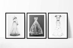 Wedding illustration, Custom Wedding sketch First Year Paper Anniversary Gift Wedding Gift, #weddingdress #weddinginspiration #illustration #weddingfashion #handmade #customsketch #bridalshower #giftforbride