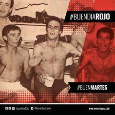 #BuenDiaRojo! #BuenMartes! 😈 Año 1967. Festejo en los vestuarios de Mura, Pastoriza y Acevedo tras obtener el Nacional.