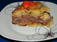 Musaca de cartofi cu carne
