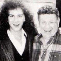 david bryan (rashbaum) with his dad eddie rashbaum