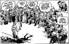 KAL's cartoon: this week, lines