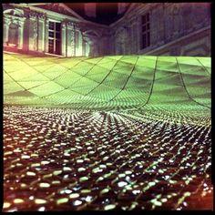 (E) La structure abritant le nouveau département Arts de l'Islam au musée du Louvre #UneSource