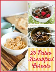 20 Paleo Breakfast Cereal Recipes