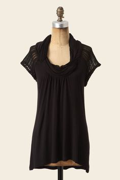 Because I just don't have enough black in my wardrobe, and spring is on the way. . .