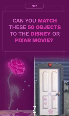 Can You Match These 50 Objects to the Disney or Pixar Movie?