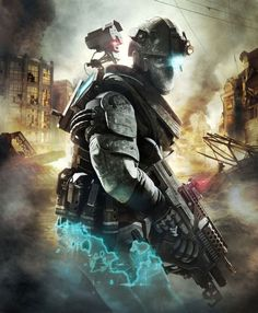 Tom Clancy's Ghost Recon: Future Soldier_ Cover Art