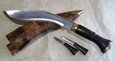 "World War II Dehradune Gurkha Khukuri Khukri Kukrri Kukri Knife 11""  Wood Handle"