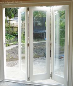 Bi-fold doors, folding doors, glass bi-fold doors, french doors ...
