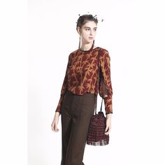 COLE COOL Women's Bamboo Print with Leather Binding Top #COLECOOL #CropTop #Casual