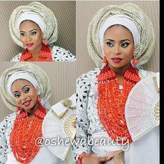 Beautiful make up by @oshewabeauty