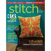 Sew 36 bright projects for summer with this issue of Stitch! | InterweaveStore.com