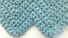 How to Crochet the Simple Chevron Stitch