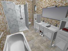Plan 3D chambre dado Logiciel Home Design 3D Gold