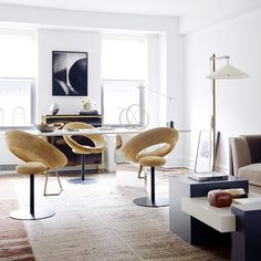 those chairs are cool via @mydomaine