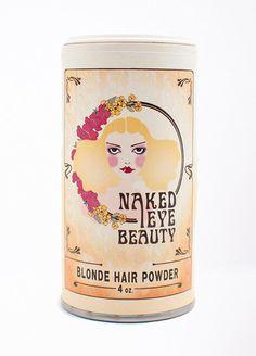 Copy of Naked Eye Beauty Blonde Hair Powder – BellJar