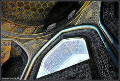 Mahdi Shadkar Sacred ART , Between Silence and Light