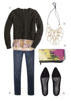 this look is the perfect mix of casual and classy for fall // click for outfit details