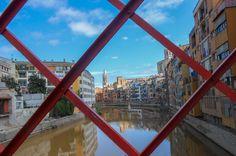 Girona, Spain. Absolutey adorable town.