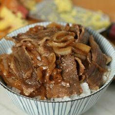 Gyudon (Japanese Beef Bowl) Recipe   Yummly
