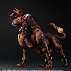 Final Fantasy VII Advent Children Play Arts Kai Action Figure Red XIII 23 cm ( Square Enix )