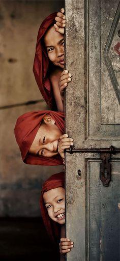 #Burma, los niños y su inocencia son la sonrisa que une al mundo!: