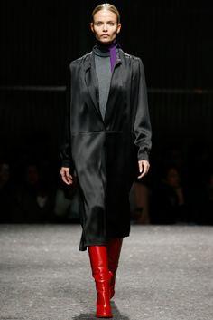 Natasha Poly for Prada fall 2014 collection