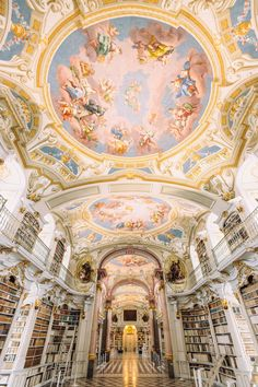 White Staircase, Beautiful Library, Mc Escher, Austria, Rome, Most Beautiful, Fair Grounds, Around The Worlds, Travel